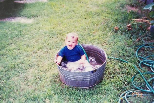 macy in bucket