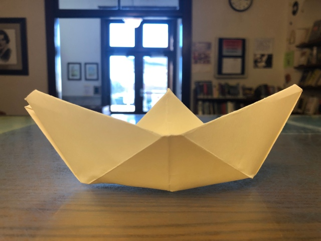 Paper Boat Finished